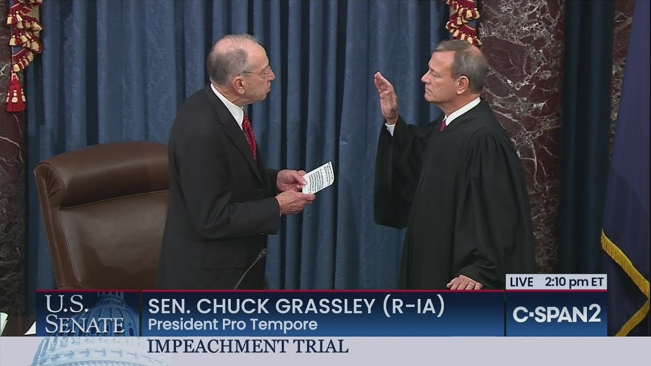 U.S. Senate: Swearing-in of Chief Justice & Senators