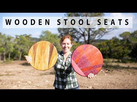 Building Custom Stool Seats from Scrap Wood