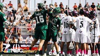 Premier Lacrosse League Redwoods Vs Chrome EXTENDED HIGHLIGHTS NBC Sports