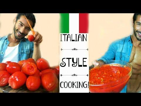 Fresh Tomato Sauce recipe - Italian Style