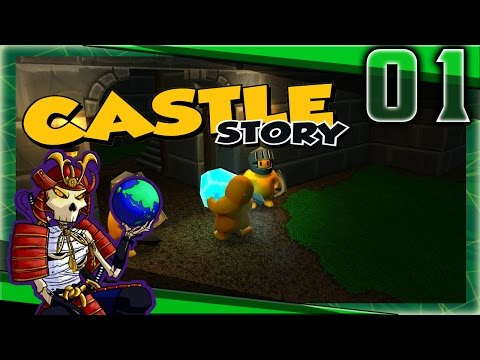 Castle Story Early Access | Baby Steps | Let's Play Castle Story Gameplay
