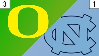 3 Oregon vs. 1 North Carolina Prediction | Who