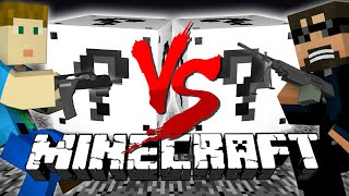 Minecraft: WHITE LUCKY BLOCK CHALLENGE | Shooting Range!