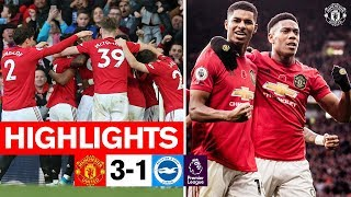 Highlights | United 3-1 Brighton | Premier League