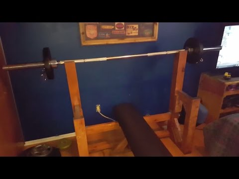 Bench press made out of wood!?