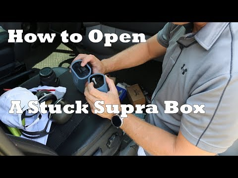 How to Open a Stuck GE Supra Lock Box