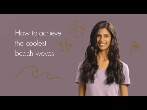 How to achieve the coolest beach waves   Xtava It Curl Oval Wand