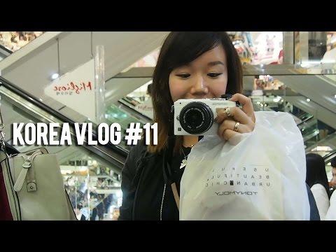 RINA IN KOREA VLOG #11 Myeongdong and Dongdaemun Shopping!