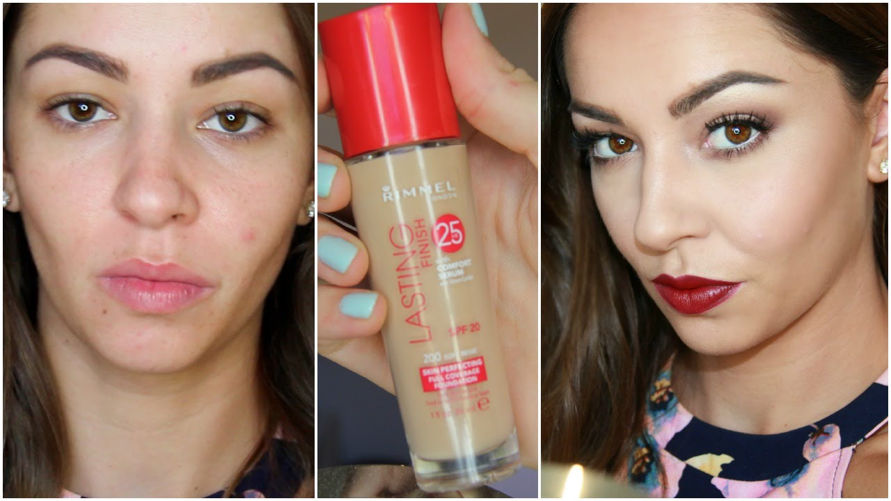 FIRST IMPRESSIONS REVIEW Rimmel London Lasting Finish Foundation