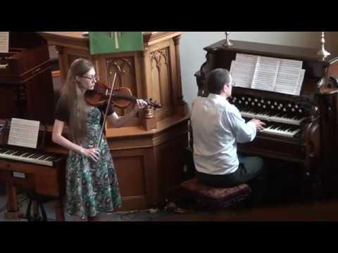 Reed Organ Concert 2018 - The Infant Paganini - Violin/Reed Organ