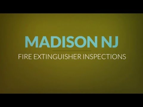 Madison Fire Extinguisher Inspections