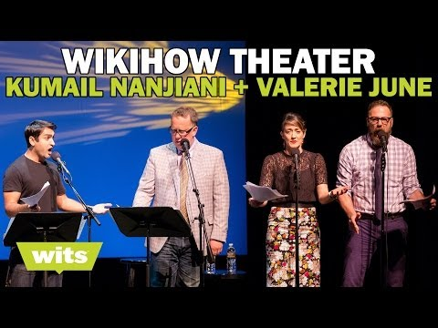Kumail Nanjiani and Valerie June - 'WikiHow Theater' - Wits