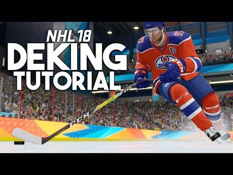 NHL 18: ALL DEKES TUTORIAL