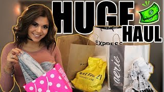 HUGE SUMMER CLOTHES HAUL! (PACSUN, PINK, AERIE, EXPRESS)