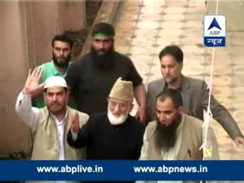 Syed Ali Shah Geelani and  Masarat Alam put under house arrest