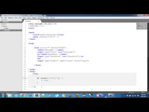 PHP login with procedural code Vs codeigniter by Williams Alfred Onen Part 1
