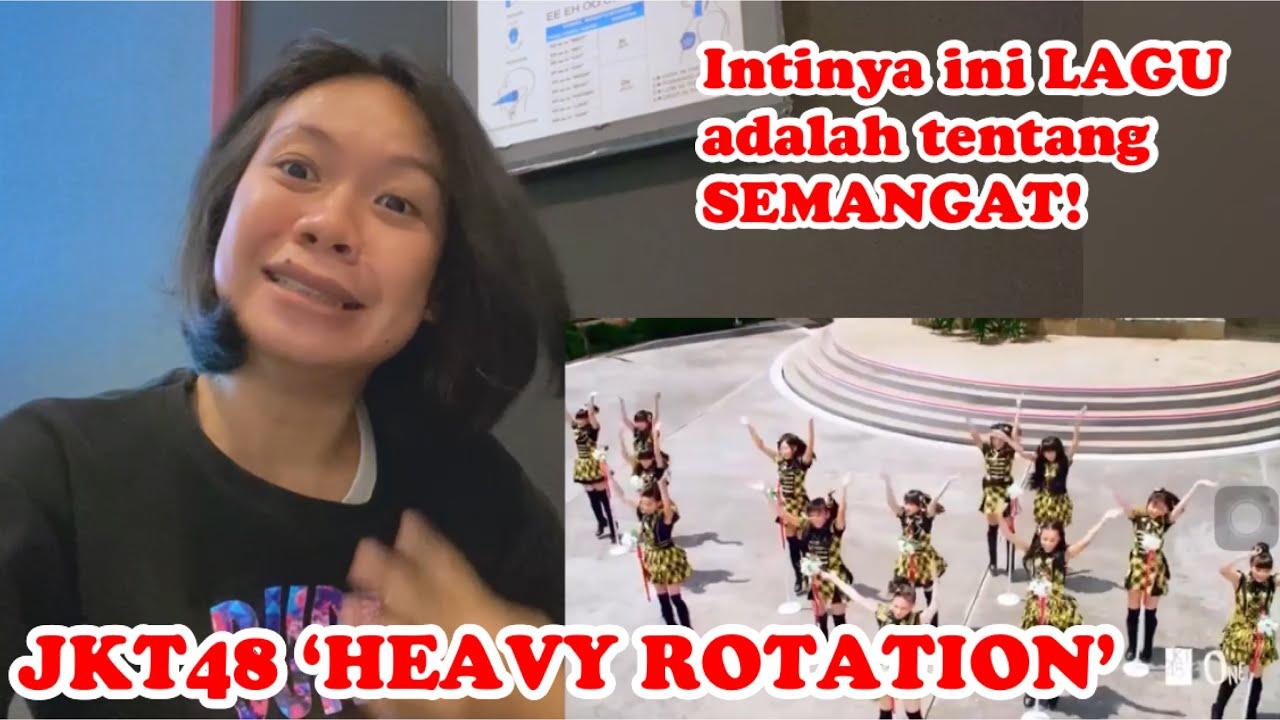Download JKT48 'HEAVY ROTATION' REACTION | Menggambarkan semangat anak muda yg tak gampang menyerah MP3 Gratis