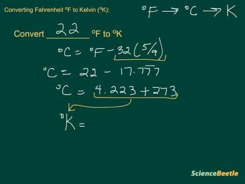 Converting Fahrenheit to Kelvin (part 2)