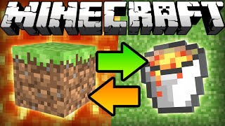 If Lava and Grass Switched Places - Minecraft