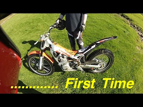 First Time on a Trials Bike