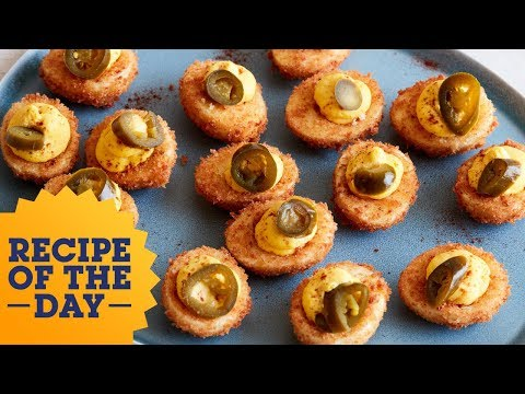 Recipe of the Day: Fried Deviled Eggs | Food Network