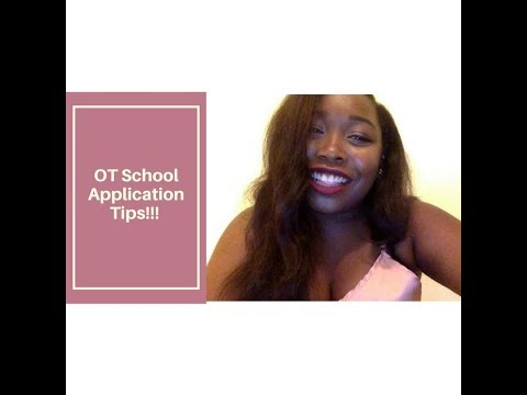Occupational Therapy School Application Tips!