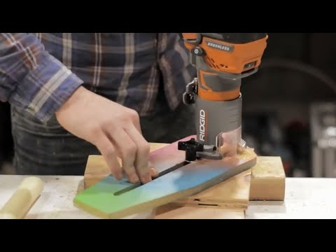 DIY Router Jig to Cut Perfect Circles || Modustrial Shop Project