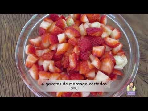Geleia de Morango Caseira com Chia