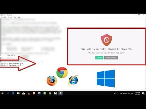 How to Block Any Websites in Any Browser Permanently in Windows 10 Easily 2018