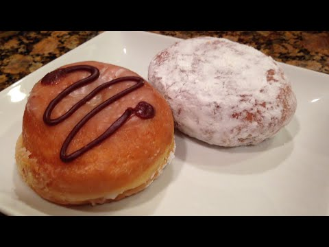 Dunkin Donuts Coffee Creme Donuts Video REVIEW: Freezerburns