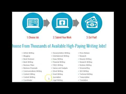 Make $1000 a Month  Freelance Writing - Freelance Writing  Online
