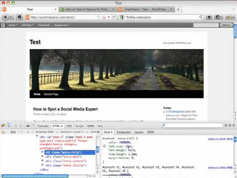 How to Modify Your Wordpress Template