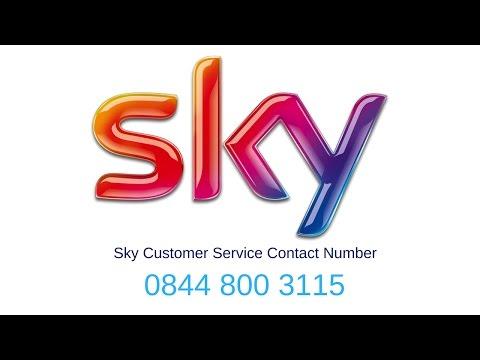 Sky customer service contact number 0844 448 7500 Contact Sky