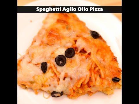 Spaghetti Aglio Olio Pizza