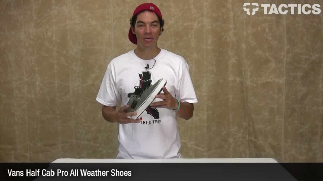 First Look: The Vans Half Cab Pro All Weather