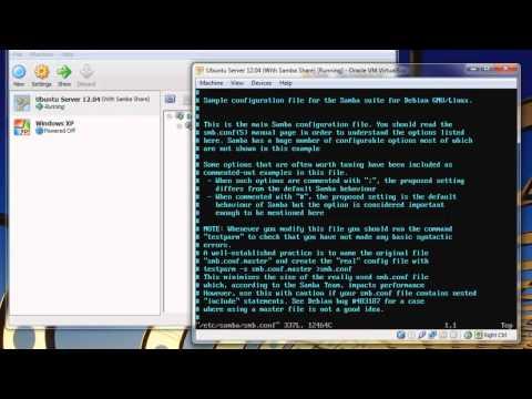 [Linux] Create a network share with Ubuntu Server (Samba) [HD]