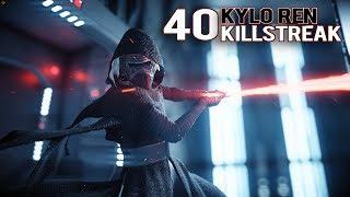 40 KYLO REN KILLSTREAK - STAR WARS BATTLEFRONT 2