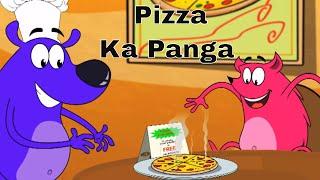 Pyaar Mohabbat Happy Lucky - Ep.25 | Pizza Ka Panga | Hindi Animated Cartoon Show | ZeeQ