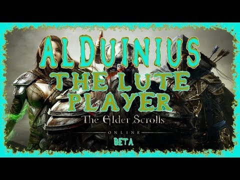 Elder Scrolls Online | How to Play Musical Instruments | Alduinius the Lute Player | Eso Beta Ep. 3