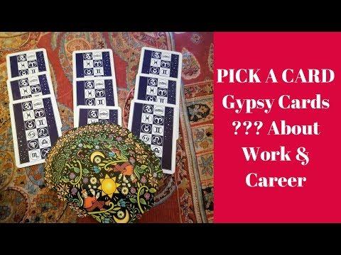 PICK A CARD GYPSY CARDS~Work/Career/Job With Anastasia