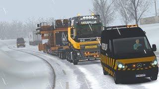 1 30] Euro Truck Simulator 2 | Scania R Heavy Haul Convoy