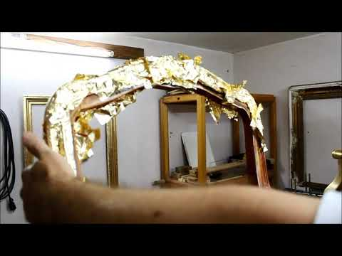 Immitation Gold Leaf Application - Some detailes