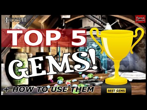 Infinity Blade 3: TOP 5 GEMS + HOW TO USE THEM!