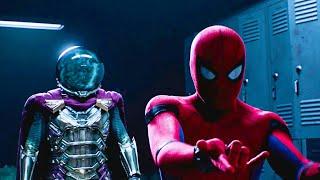Spider-Man vs Mysterio - Mysterio's Illusion Scene   Spider-Man: Far From Home