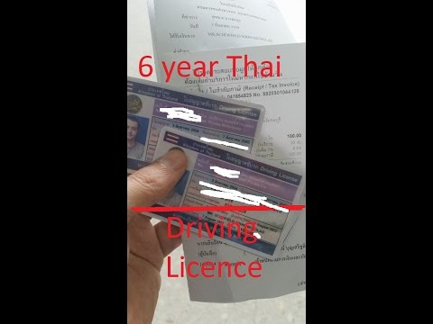 IM BACK!!!! + Renewing my 5 year Thai Driving licence Car and Bike in Pattaya