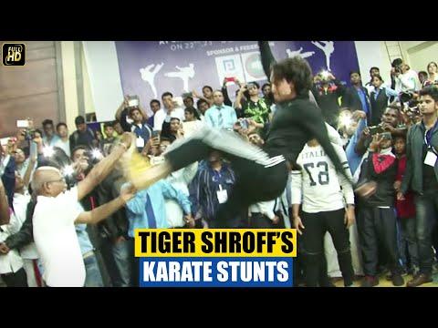 Tiger Shroff's Karate Training Stunts
