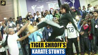Tiger Shrof Shows His Karate Training Stunts
