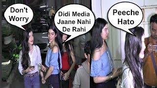Shanaya Kapoor Saves Sister Khushi Kapoor From Media Mob