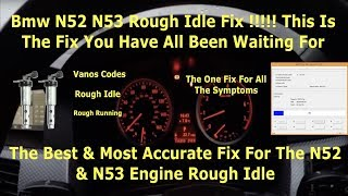 How to: Fix BMW Stutter/Rough Idle (E90/E92 Vanos) | Music Jinni
