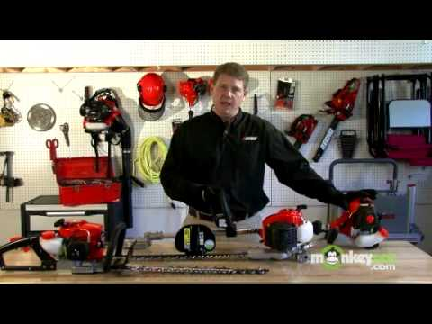 Gas Hedge Trimmer - Tasks To Be Performed